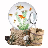 Magic Globe Fountain Well Aquarium, 5-Gallon: Pet Supplies