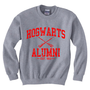 Hogwarts Alumni EST 993 Red Logo Sweatshirt Crewneck Unisex (Size S &amp; M) HG04