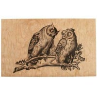 Vintage Owl Wall Art
