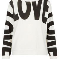 Love Sweat - Jersey Tops - Clothing - Topshop