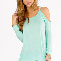 Caseylin Cold Shoulder Sweater $23