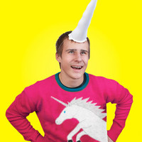 Inflatable Unicorn Horn for People