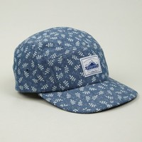 Men's Leaf Print Casper Five-Panel Cap