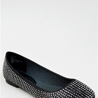 Madden Girl TAZORR Rhinestone Ballet Flat | Shop Madden Girl Shoes