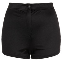 Shiny High Waist Shorts - Going Out - Collections - Topshop USA