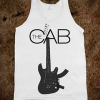 The Cab Angel With a Shotgun Band Tank Top
