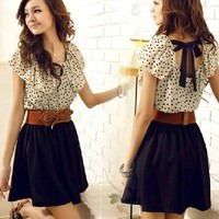 amazinglife  Cute Chiffon Dress for Summer