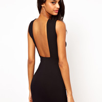 ASOS Mini Sleeveless Square Back Dress
