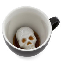 Will's Presentation Skulls Mug | Mod Retro Vintage Kitchen | ModCloth.com