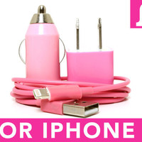 Pink iPhone 5 Charger