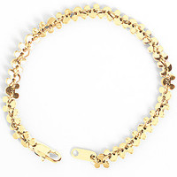 Flud Watches Bracelet Disney Mickey Chain Linked in Gold