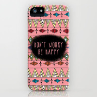 Don&#x27;t Worry iPhone Case by Sandra Arduini