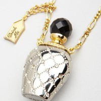 fredflare.com | 877-798-2807 | Disney Couture &quot;drink me&quot; necklace