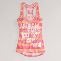 AE Signature Striped Tank | American Eagle Outfitters