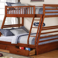Murphy Twin over Full Storage Bunks