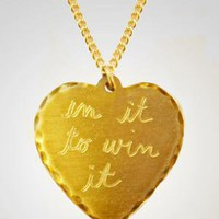 fredflare.com |sweet nothing heart necklace