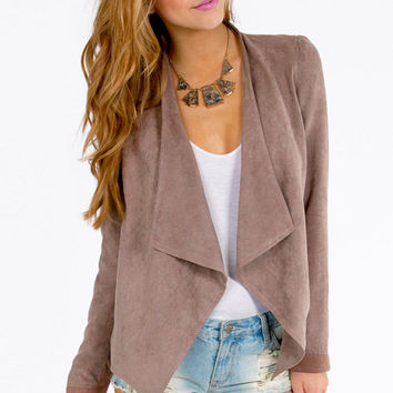 Zac Draped Jacket $36