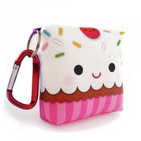 Handmade Gifts | Independent Design | Vintage Goods Happy Cupcake Plush with Keychain - New Arrivals