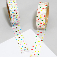 fredflare.com | 877-798-2807 | polka dot tape two-pack