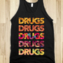 The Munchies (Tank) - Drinking Makes You Drunk - Skreened T-shirts, Organic Shirts, Hoodies, Kids Tees, Baby One-Pieces and Tote Bags