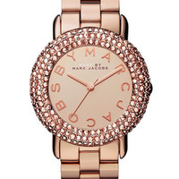 MARC BY MARC JACOBS 'Marci' Mirror Dial Crystal Bezel Watch | Nordstrom