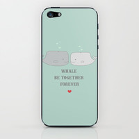Whale Be iPhone & iPod Skin by Grace Elizabeth | Society6