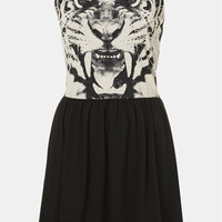 Topshop Tiger Graphic Dress | Nordstrom