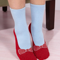 Dorothy Ruby Slipper Socks