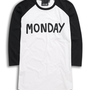 Lazy Oaf | Lazy Oaf | Monday Baseball T-shirt