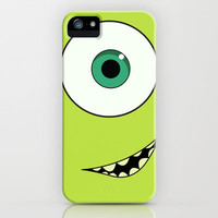 Mike Wazowski, Monsters Inc. iPhone Case by gabsnisen