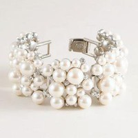  Pearl cobblestone bracelet 
