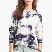 Truehitt Tie Dye Crewneck Sweater (Juniors)(Online Exclusive) | Nordstrom