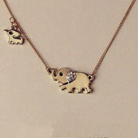 Elephant Family Necklace from MostImpact