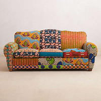 Anthropologie - Franco Dutch Wax Sofa
