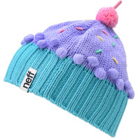 Neff Confetti Pastel Purple Cupcake Beanie