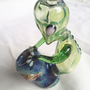 Pipe Alien GLOW Eyes and Stars Playing Space Bongo by XylieGlass