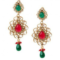 Dhara Earrings - INDIAN BAZAAR Dhara Earrings