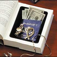 2-Book Safes, Diversion Safe made with a Real Book - Amazon.com