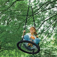 Round-and-Round Outdoor Swing: Toys & Games