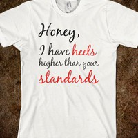 heels - One Stop Shop - Skreened T-shirts, Organic Shirts, Hoodies, Kids Tees, Baby One-Pieces and Tote Bags