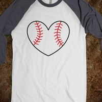 MLB Baseball Heart