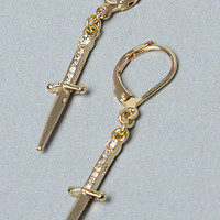 Karmaloop.com - The Drop Diamond Knife Earring