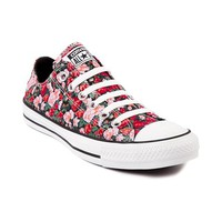 Converse All Starl Lo Floral Athletic Shoe, Black, at Journeys Shoes
