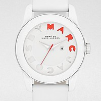 Marc by Marc Jacobs Icon Stripe Leather Ladies Watch