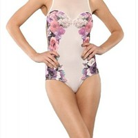 Floral Bodysuit from Seek Vintage
