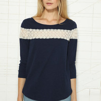 Cooperative Crochet Band Top at Urban Outfitters