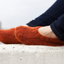 Hand knit super soft wool socks slippers for everyone by RGideas