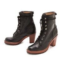 Frye Lucy Lace Up Booties | SHOPBOP