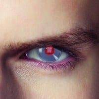 Terminator Android Coloured Contacts
