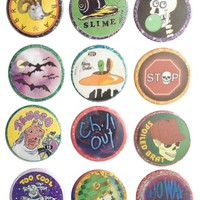 The Pulp Girls — NINETIES POG BUTTONS